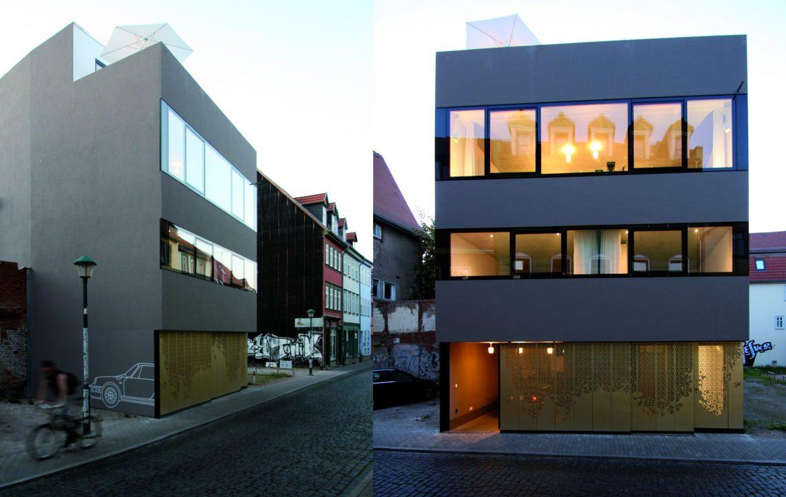 Wohntrends: Wohnkubus in Altstadtlage Haus zur Rose Deckert Mester
