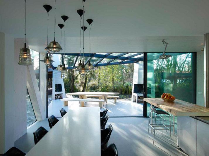 Eine Villa in Rotterdam, Ooze Architekten esszimmer ooze es2