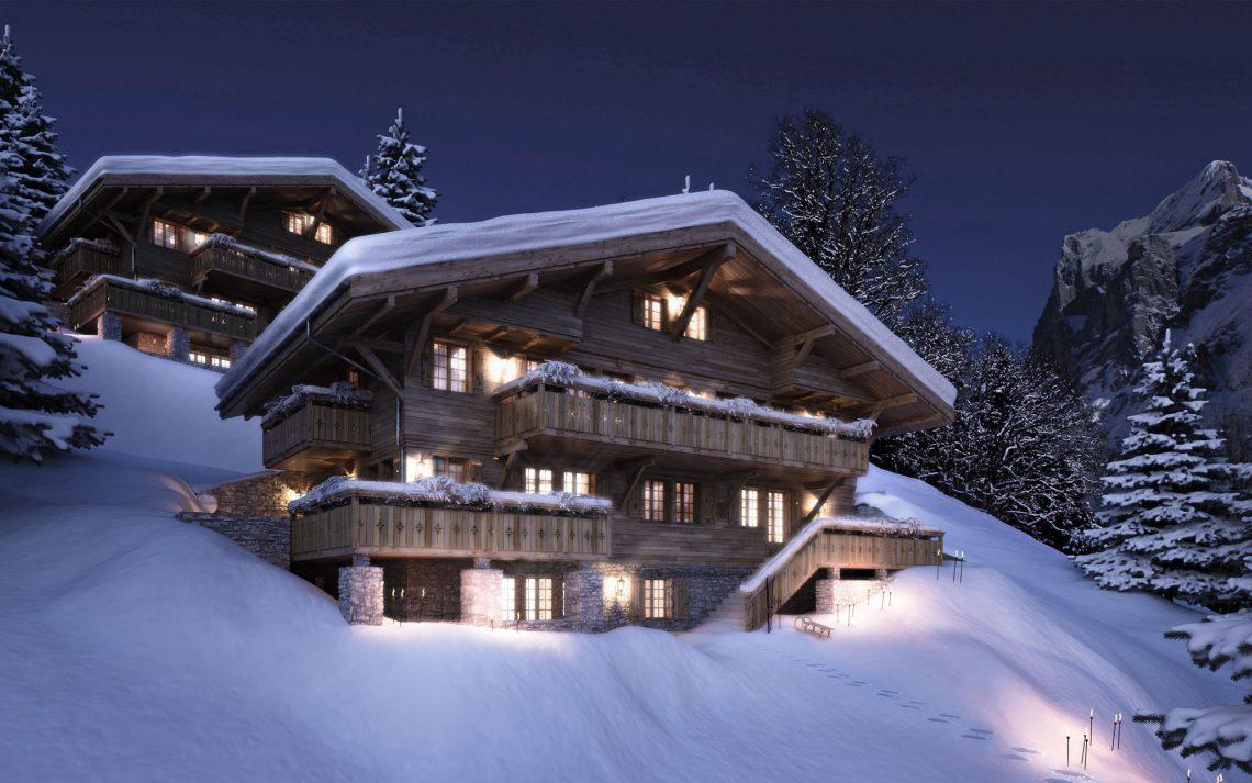Grindelwald Chatel in der Schweiz 1  Chalet in den Schweizer Bergen Grindelwald Chatel in der Schweiz 11