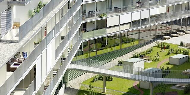 """""""Das Messequartier in Graz verbindet modernste Architektur mit Praktikabilität für die Herausforderungen des täglichen Lebens und Arbeitens.""""  Wohnanlage Messequartier, Graz von Pernthaler Architekt Wohnanlage Messequartier Graz von Pernthaler Architekt Architektur und Design Wohn DesignTrend 02 e1364293015738"""