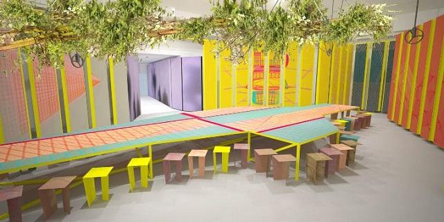 """""""Besonderes Design und erstaunliche Marken auf der Mailänder Messe 2013.""""  Milan Design Week 2013: Kvadrat, Moroso und Ligne Roset Milan Design Week 2013 Kvadrat Moroso und Ligne Roset Ereignisse Marke Wohn DesignTrend 02"""