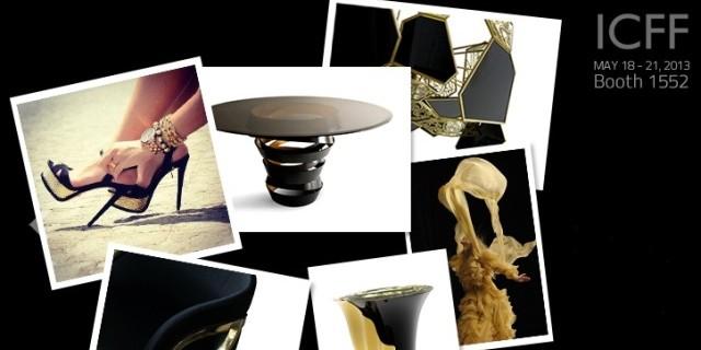 """""""Koket präsentiert auf der ICFF New York erstaunliche Designer-Stücke. Besuchen Sie es auf Booth 1552.""""  KOKET auf der Möbelmesse ICFF 2013: Booth 1552 Wohn DesignTrend    KOKET auf der ICFF 2013 e1367569039724"""