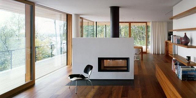 """""""Wohnhaus Heilbronn von K_m Architektur in Deutschland. Holz ist ein ganz besonderes Baumaterial. Holz ist traditionell und modern zugleich.""""  Wohnhaus Heilbronn von K_m Architektur in Deutschland Wohn DesignTrend Wohnhaus Heilbronn von K m Architektur in Deutschland 09 e1371456730749"""