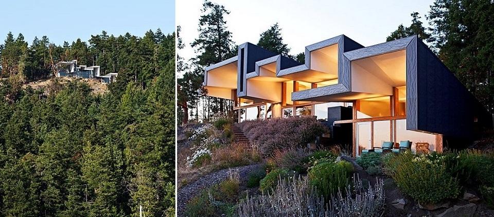 Wohndesign: Glasbau mit gefaltetem Dach Wohn DesignTrend Wohndesign Glasbau mit gefaltetem Dach 08