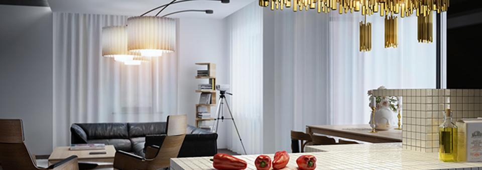"""""""Mitten in Kiew, Ukraine, haben die Architekten von Leks Visuals, ein wunderschönes, exquisites und einmaliges Apartment geschaffen.  Leks Visuals – Apartment in Kiew cover2"""