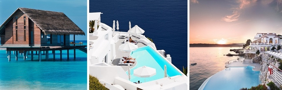 TOP 10 unglaublichsten Hotelpools um die Welt Top 10 of the most beautiful hotel pools slide