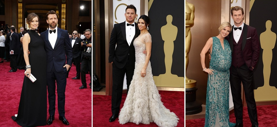 Oscar-Paare Die 10 schönsten Oscar-Paare 2014 Die 10 sch  nsten Oscar Paare slide