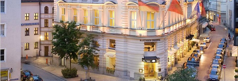 Die luxuriöse Hotel Mandarin Oriental in München Die luxur  se Hotel Mandarin Oriental in M  nchen 01