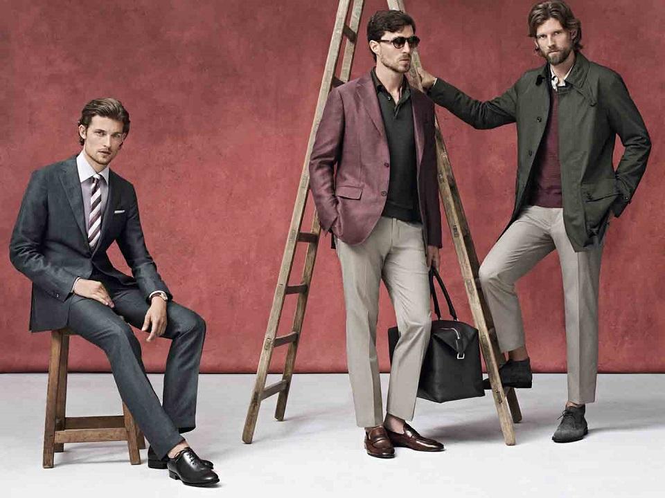Modetrends für Männer: Frühjahr/Sommer 2014 Modetrends f  r M  nner Fr  hjahr Sommer 2014 slide Ermenegildo Zegna