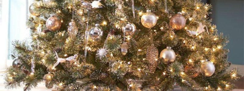 Tolle Ideen für Ihr Weihnachtsbaum weihnachtsbaum wohn design trend dekoration1