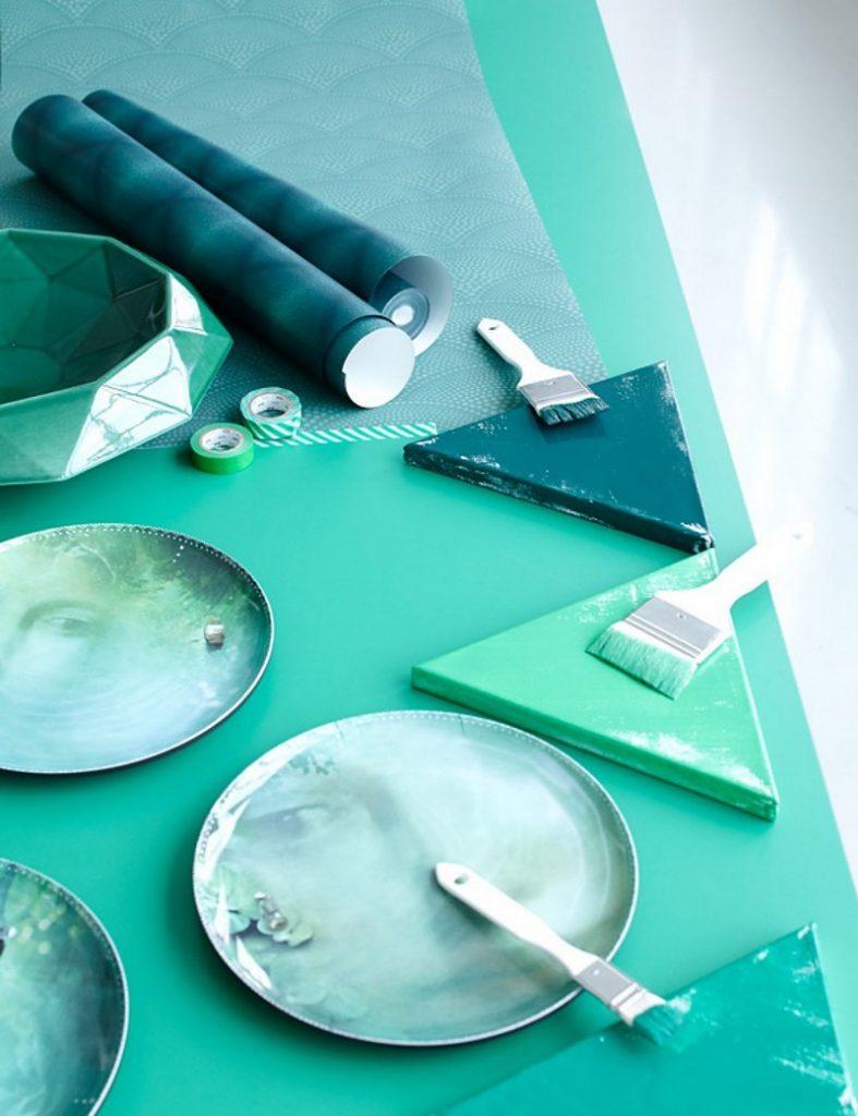 50er Jahre Charme mit Smaragdgrün 84714 sw201402034 trendfarbe smaragd pantone