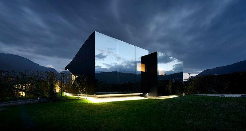 Das Wunder der Spiegel-Häuser peter pichler architecture mirror houses 171