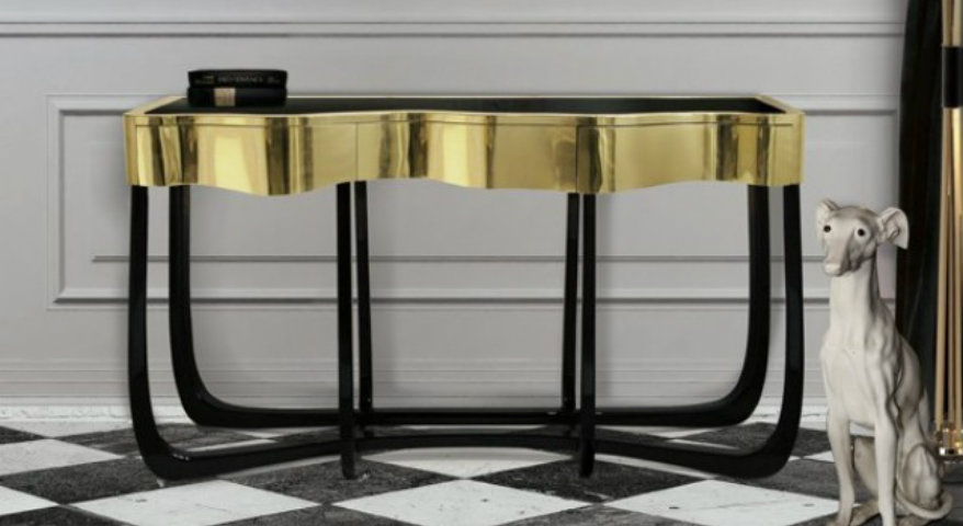 moderne Konsolen Top 10 moderne Konsolen TOP 10 BEST  MODERN  CONSOLE TABLES FOR LUXURY  INTERIOR DESIGN  PROJECT  2014 Boca do Lobo1
