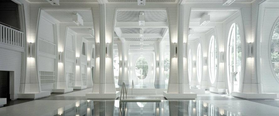 tamina Tamina Baths – Himmel von Smolenicky & Partner Architecture gestaltet featyre
