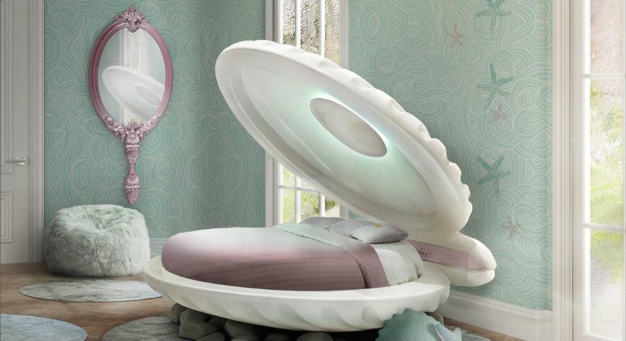 Die schönsten Kinderzimmer kinderzimmer Die schönsten Kinderzimmer clam bed 1