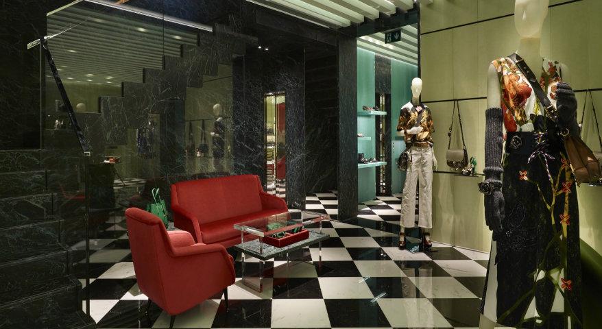 Neuer Prada Store in Zürich