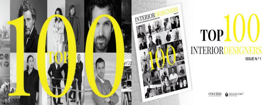 Innenarchitekten COVETED Zeitschrift zeigt Top 100 Innenarchitekten collage25 1
