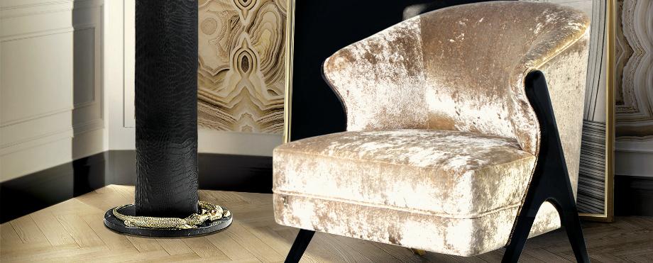 Luxus und Eleganz mit Samt Sesseln