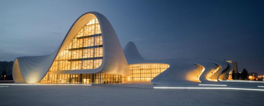 10 Atemberaubendste Architektur Gebäude der Welt Architektur 10 Atemberaubendste Architektur Gebäude der Welt Heydar Aliyev Cultural Center     Baku Azerbaijan capa