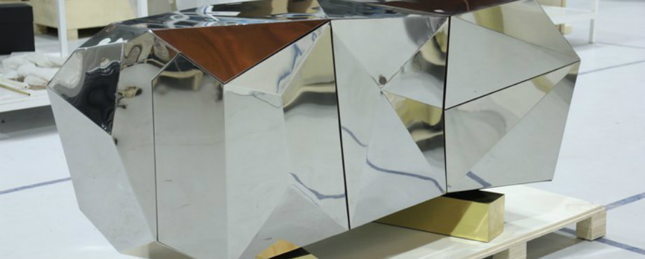 Diamond Pyrite: Das neue limited edition Sideboard von Boca do Lobo