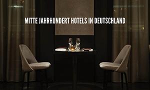 Mitte Jahrhundert Hotels in Deutschland mit der besten Beleuchtung!