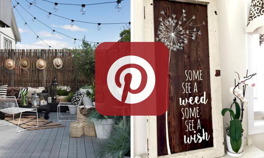 Was ist heiß auf Pinterest: Außendekore Edition!