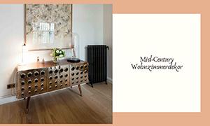 mid-century wohnzimmerdekor Lassen Sie sich von diesem Mid-Century Wohnzimmerdekor inspirieren! foto capa wdt 1