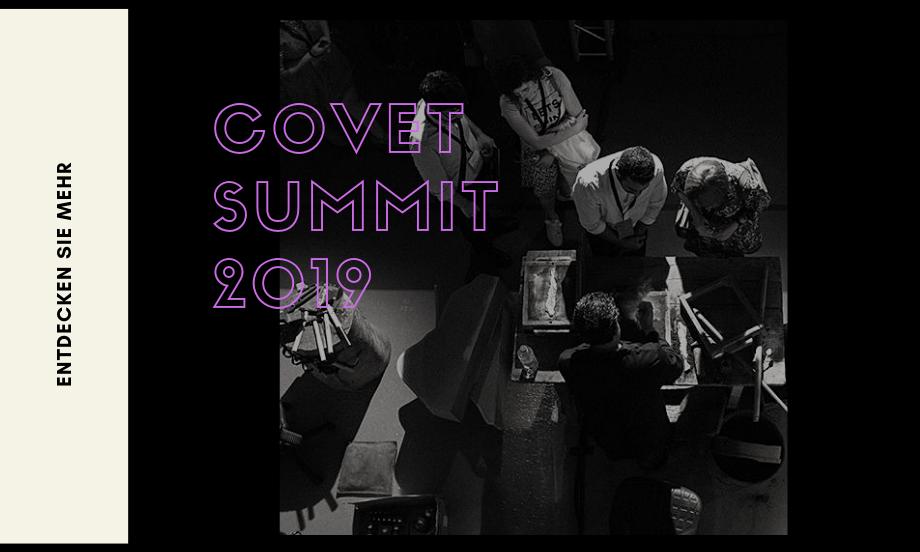 Der Covet Summit 2019 ist in diesem Monat!