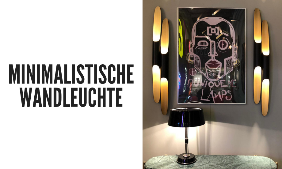 minimalistische wandleuchte Eine minimalistische Wandleuchte, die Ihr Wohnzimmer dekoriert! foto capa wdt 2