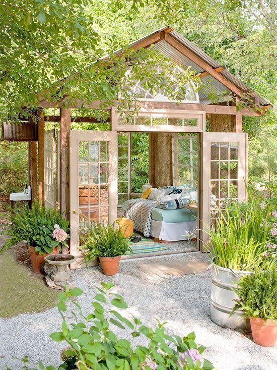 6 lustige und kreative Gartenzimmer zum Entspannen (oder Arbeiten) während der Quarantäne! 🍃 gartenzimmer 6 lustige und kreative Gartenzimmer zum Entspannen (oder Arbeiten) während der Quarantäne! 🍃 1 5