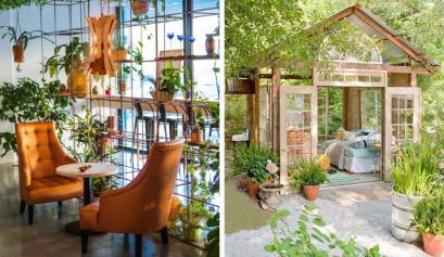 gartenzimmer 6 lustige und kreative Gartenzimmer zum Entspannen (oder Arbeiten) während der Quarantäne! 🍃 foto capa vis 1 409x237