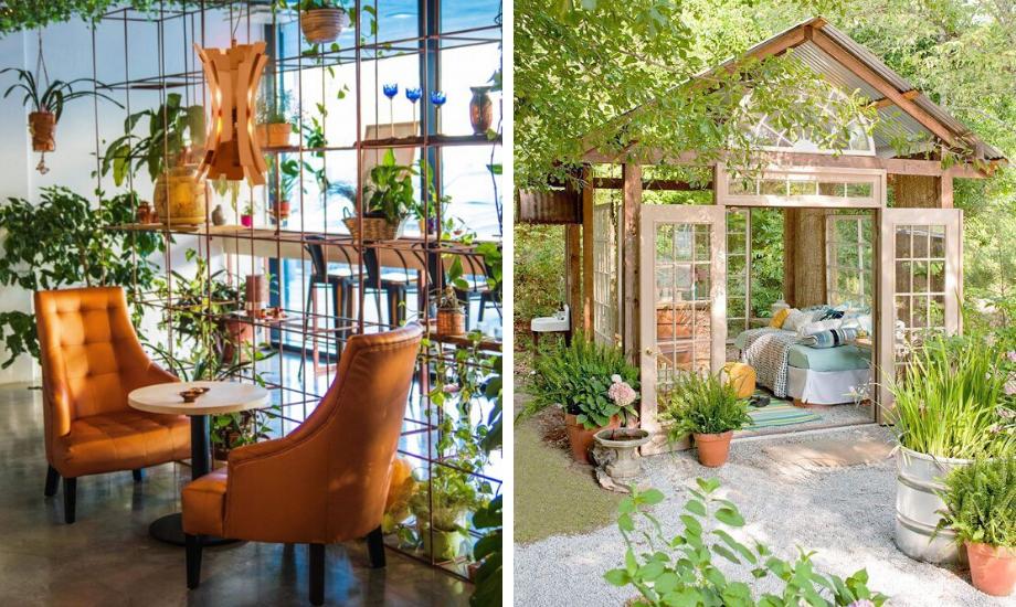 6 lustige und kreative Gartenzimmer zum Entspannen (oder Arbeiten) während der Quarantäne! 🍃